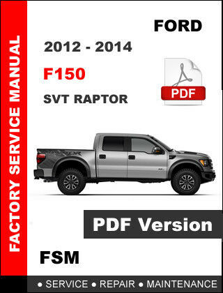 2014 ford f150 service manual