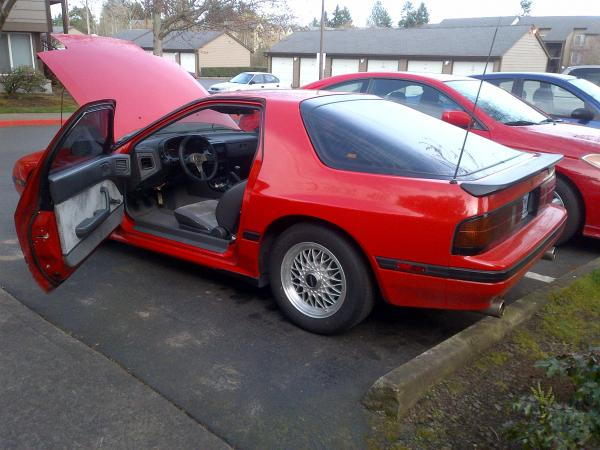 1987 mazda rx7 owners manual