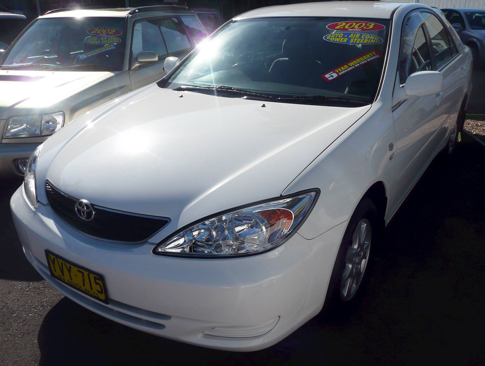 2003 toyota camry le owners manual