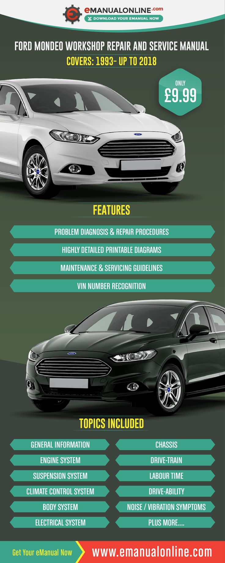 ford mondeo owners manual free download