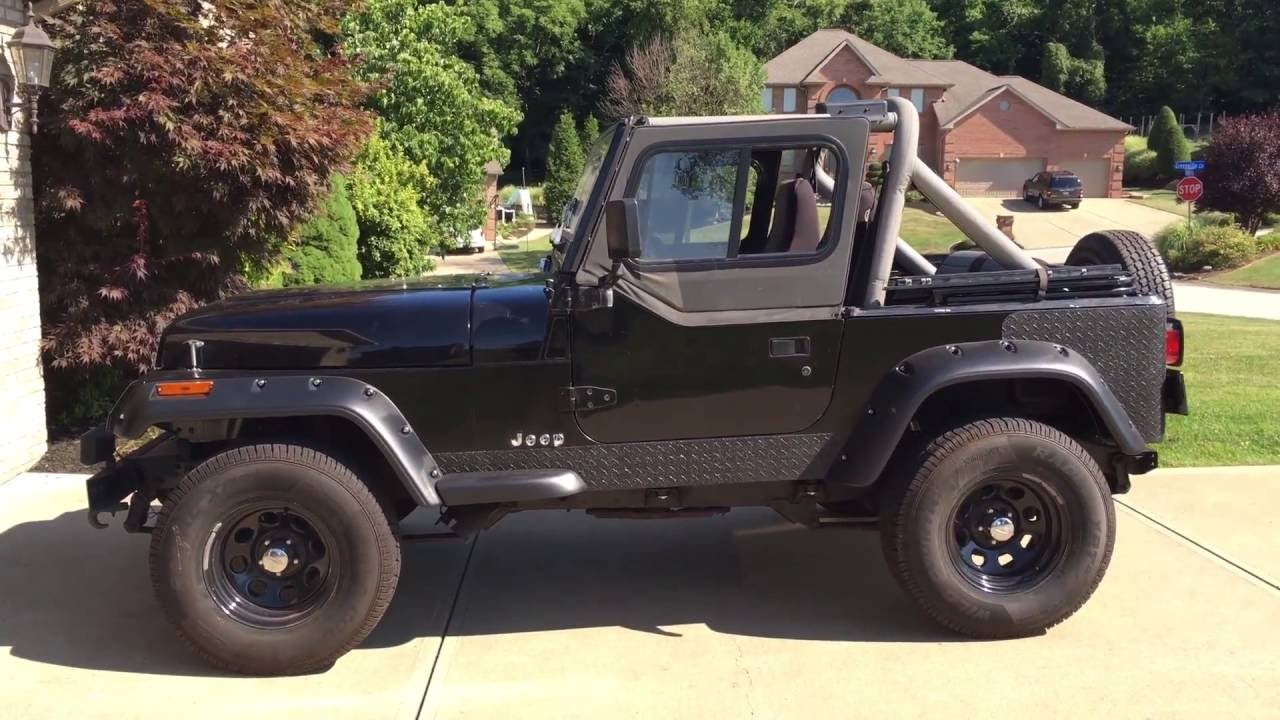 1991 jeep wrangler yj owners manual