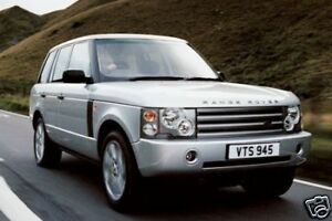 2006 range rover owners manual