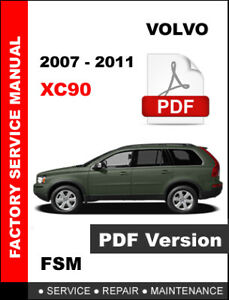 2007 volvo xc90 owners manual