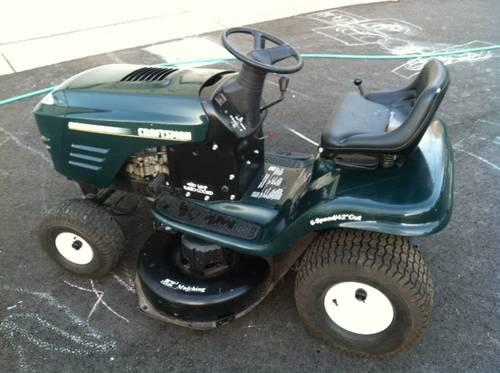 owners manual for craftsman lt2000 riding lawn mower