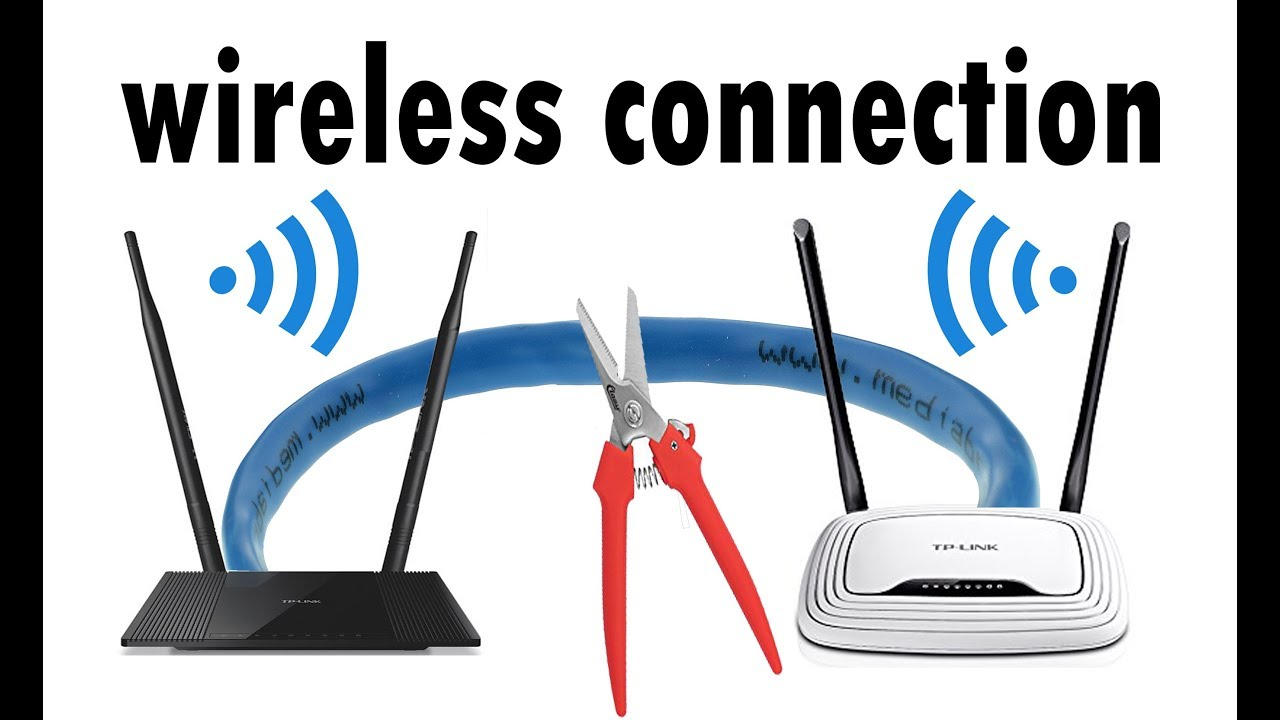 how to manually bridge 2 routers