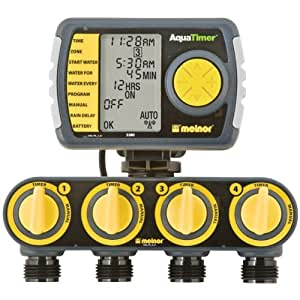 melnor water timer 2 zone manual